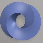 Modelling a sort of Mobius torus